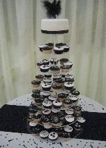 Black and white cupcakes Ref SD027
