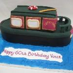 Narrow Boat Cake