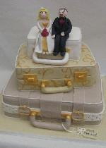 Suitcake Wedding Cake Ref SD030