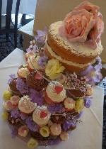 Budget Wedding Cakes from only 229 handmade in Gloucestershire