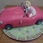 Kitty Cat Car Cake