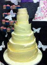 Chocolate Wrapped Wedding Cake CW047
