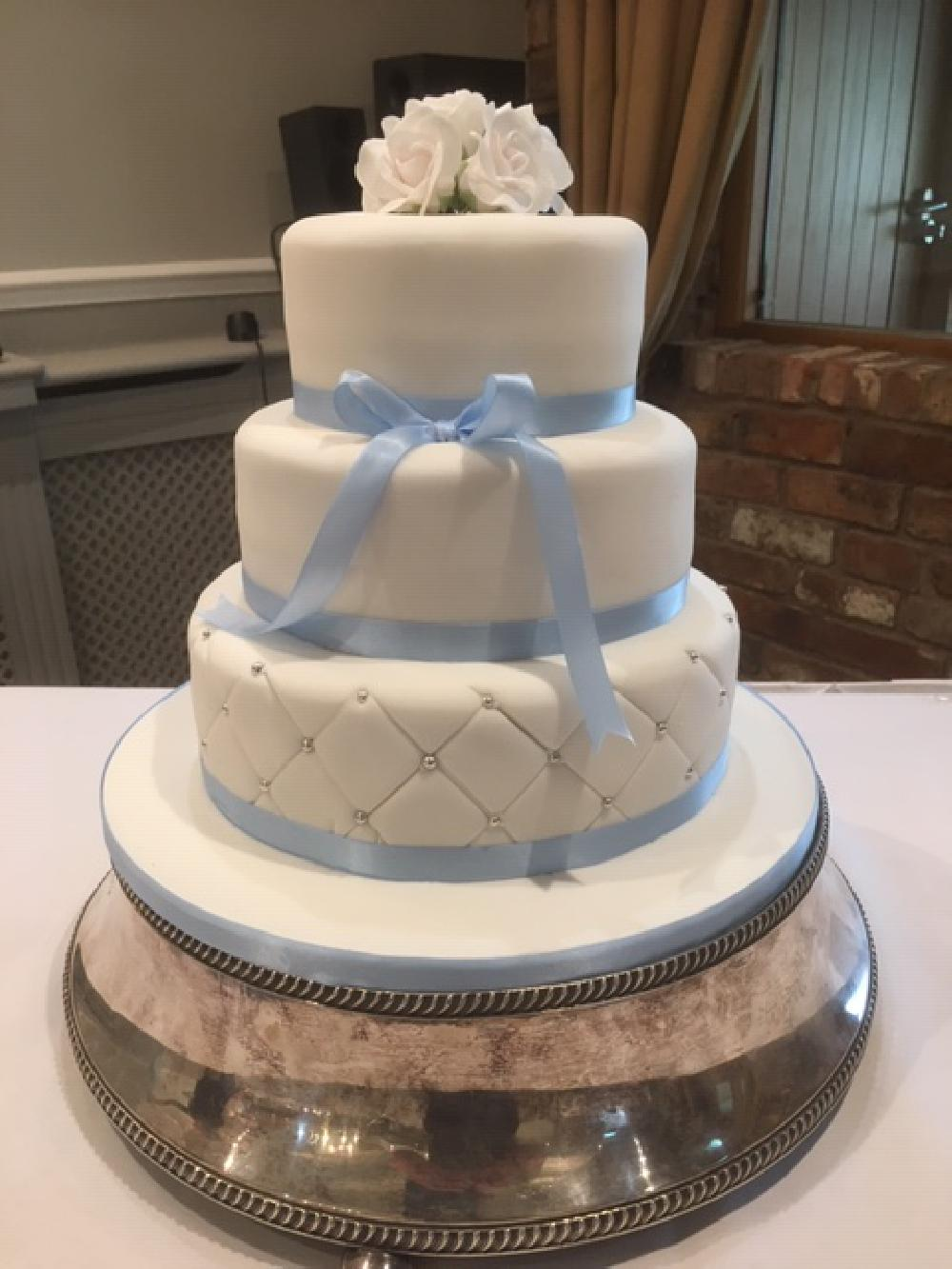 Stylish three tier cake