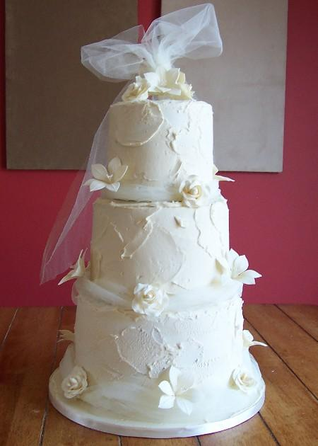 Royal Iced Wedding Cake   Ref IC015