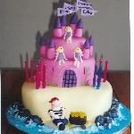 Pirates and Fairies Cake